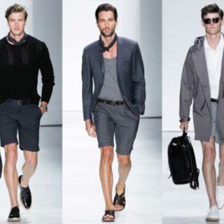 Мъжка мода къси панталони