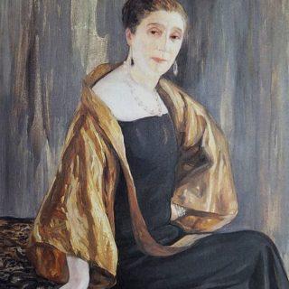 Портрет на Жана Ланвен от 1925г