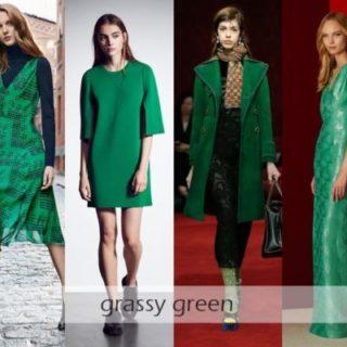 моден цвят 2017 зелено