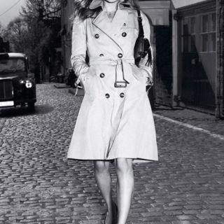 Реклама на Burberry с Кейт Мос - 2005г