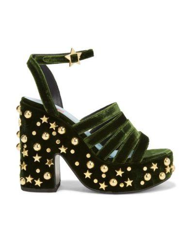 обувки с висока платформа